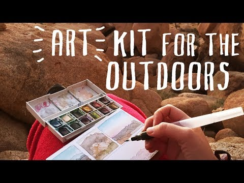 New Video: Minimalist Art Kit