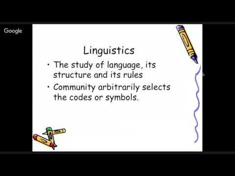 Chapter 1 Lecture: Communication Disorders, Part 1