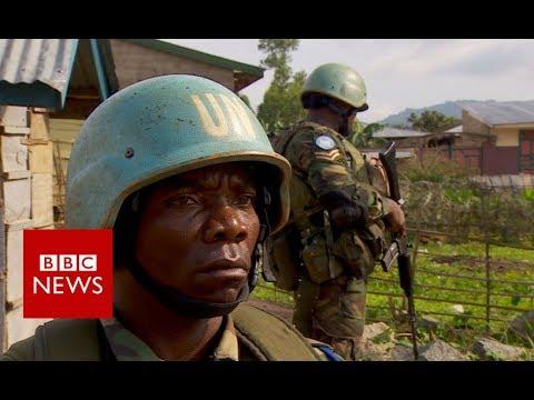Congo: UN peacekeepers patrol - BBC News