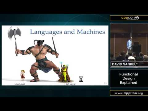 "CppCon 2015: David Sankel ""Functional Design Explained"""