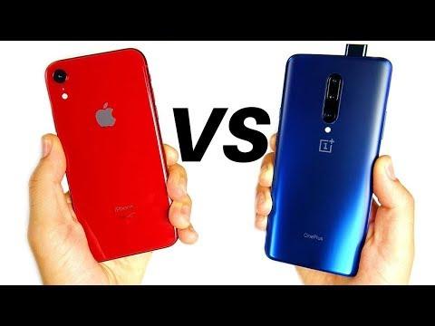 Apple iPhone XR vs OnePlus 7 Pro