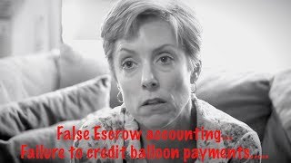 Attorney Julie Herber Explains her Ocwen & Deutschebank Fraud Nightmare in Washington.