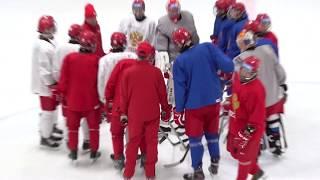 ЮОИ 2020 Тренировка сборной России U16 перед игрой с Данией