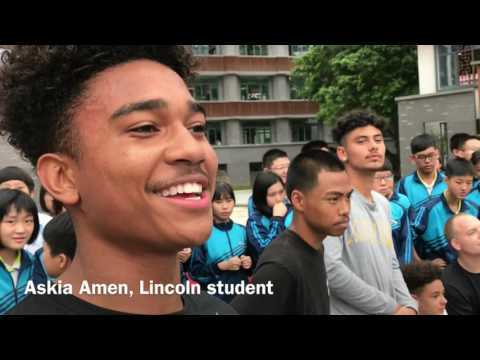 Fuzhou, China, students give Tacoma students royal treatment