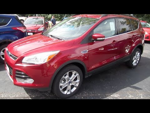 2013 FORD ESCAPE SEL 4WD Review Start up Engine