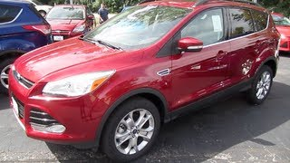 2013 FORD ESCAPE SEL 4WD Review Start up Engine(In this video I give a detailed tour of 2013 Ford Escape SEL 4WD showing the exterior, engine and interior. Hello my friends and welcome to Automotive Review ..., 2012-09-24T03:23:30.000Z)