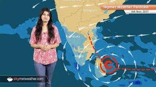 Weather Forecast for Nov 6: Rain in Chennai, Coastal TN, Andhra Pradesh to persist