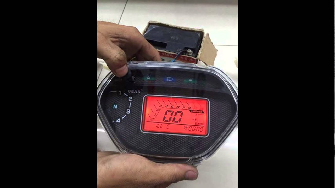 Đồng Hồ điện tử cho tất cả các loại xe máy l Hoàng Nam 070.670.9232