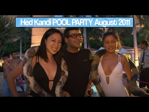 THE VENETIAN Macao presents Hed Kandi POOL PARTY - 6th August 2011