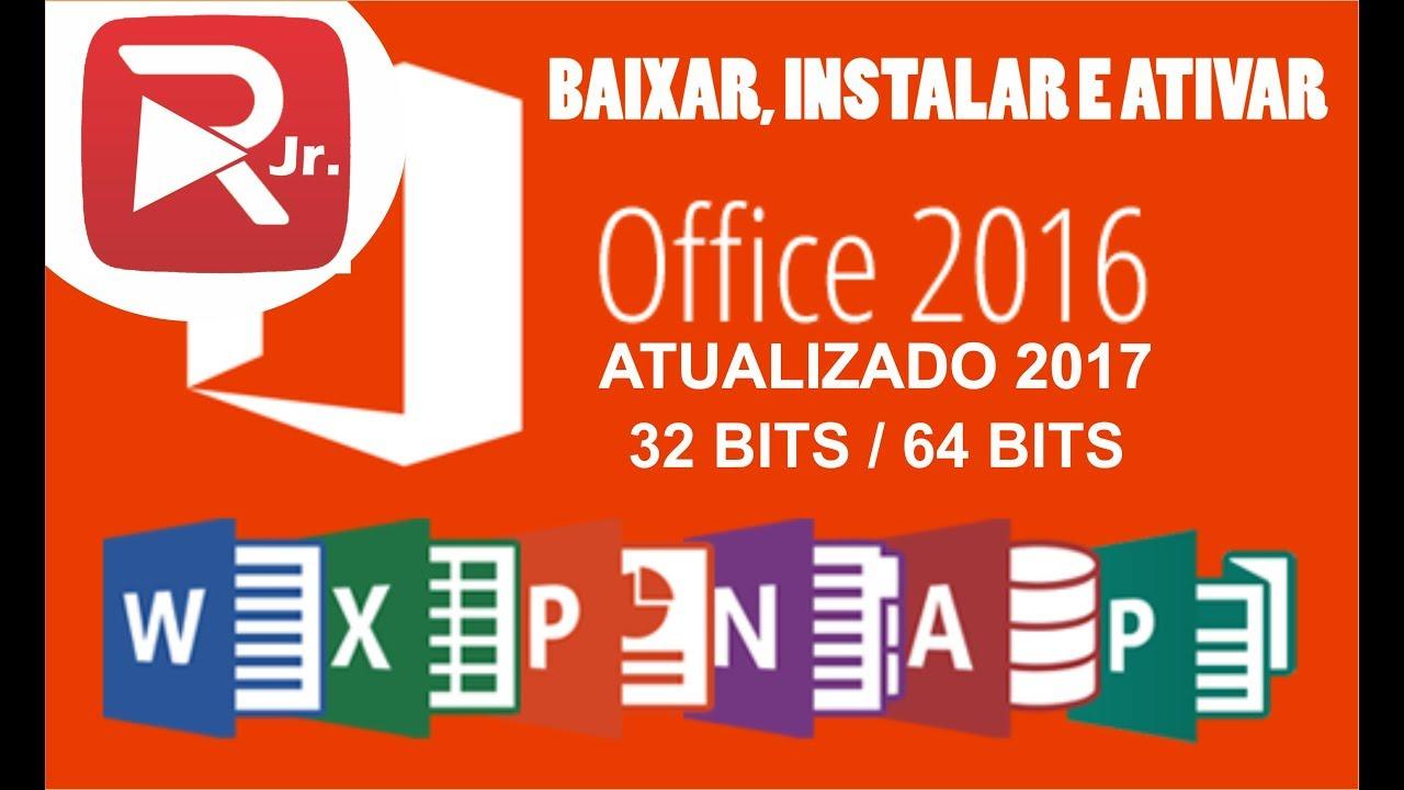 Baixar Instalar E Ativar O Office Professional Plus 2016