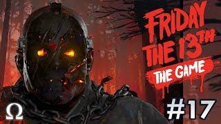 JASON'S BATHROOM SURPRISE! | Friday the 13th The Game #17 NEW SAVINI JASON! Ft. Friends