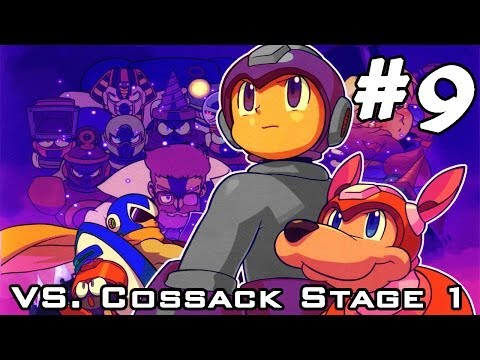 Mega Man 4 - Part 9: ShadowRock VS Dr. Cossack Stage 1! [Played By Hero Azure]