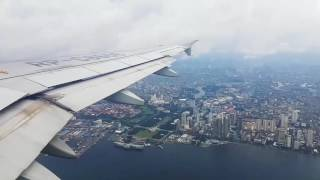 Metro Manila Skyline (Plane Take-Off)