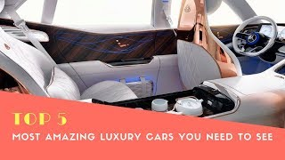 Top 5 Most Amazing Luxury Cars 2018 America  - Best Cars 2018 - Phi Hoang Channel.