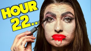 Doing My  Makeup For 24 Hours Straight