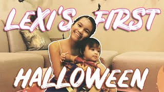 LEXI'S FIRST HALLOWEEN | HALLOWEEN AT HOME | DJ CHACHA