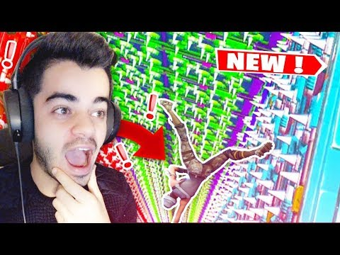 Fortnite - *NEW* INCROYABLE DROPPER DE 1000 MÈTRES IMPOSSIBLE !!