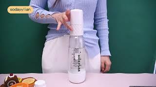 샤오미 가정용 홈카페 탄산수 메이커 에이드 만들기
