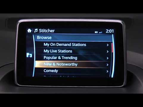 How to use Stitcher Internet Radio on the Mazda Connect Infotainment System