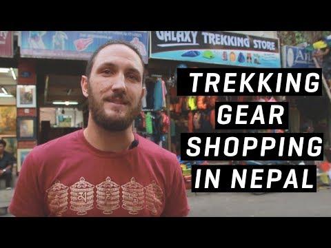 Trekking Gear In Nepal - What To Buy In Thamel