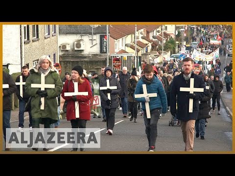 ☘️ Bloody Sunday memorial march through Derry marks 47th anniversary | Al Jazeera English