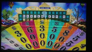 Wheel Of Fortune 2003 PC Game 12 Part 1