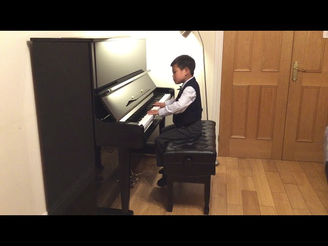 Henle Piano Competition 2020 Rundong Liu