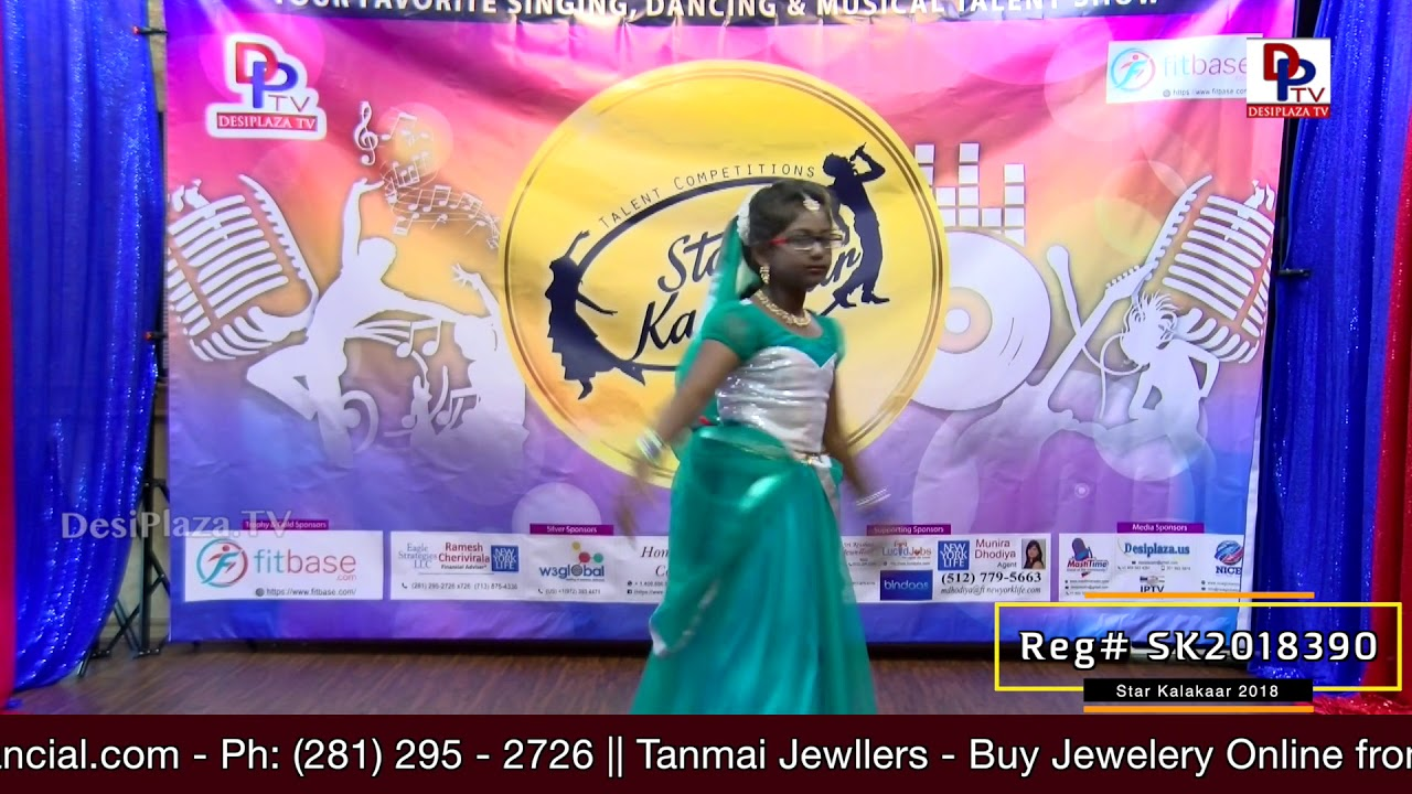 Participant Reg# SK2018-390 Performance - 1st Round - US Star Kalakaar 2018 || DesiplazaTV