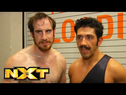 The Vaudevillains celebrate becoming No. 1 Contenders: WWE NXT, July 8, 2015
