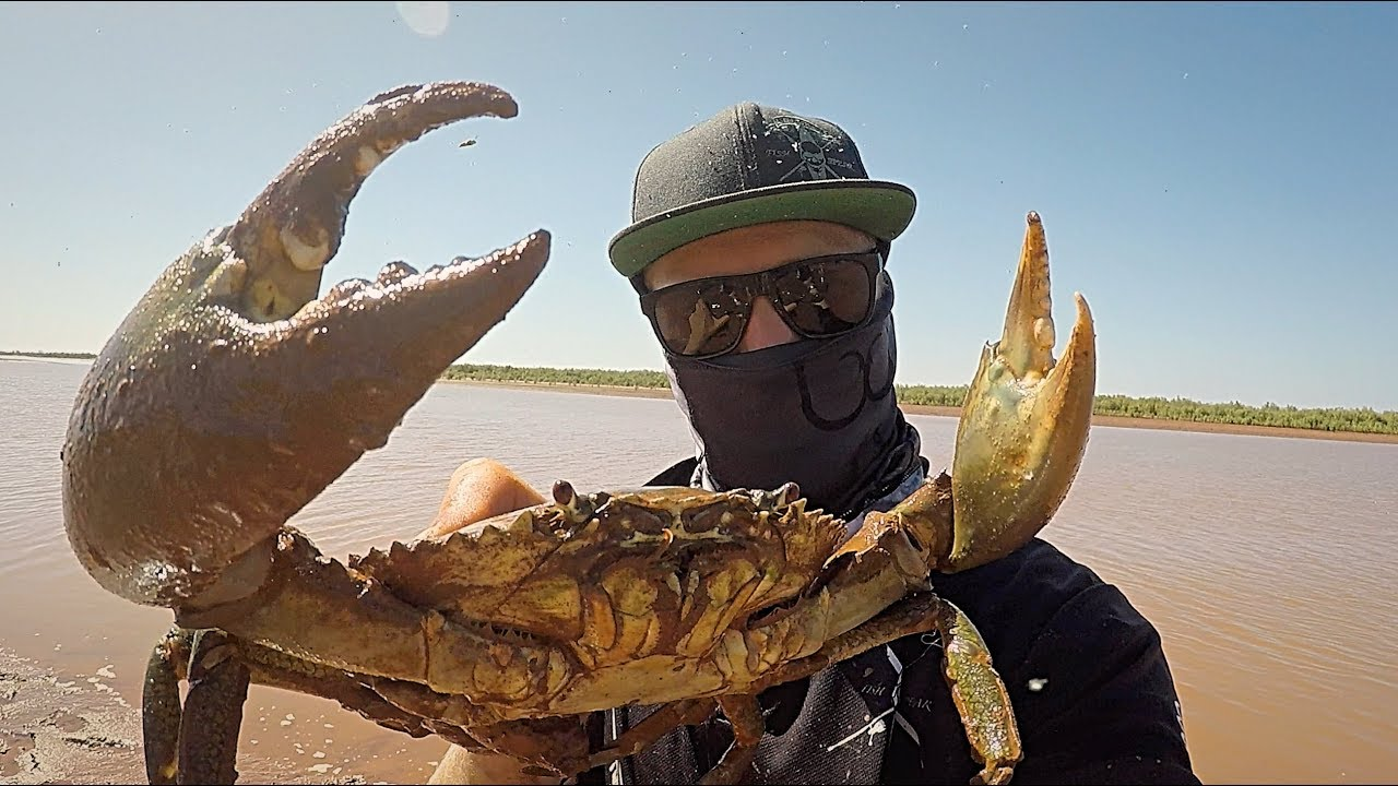WHY WOULD YA SERIES - EP 1 BAREHANDED MUD CRABBING