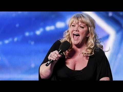 Britain's Got Talent 2015 S09E05 Alison Jiear SIngs You'll Never Walk Alone from Carousel
