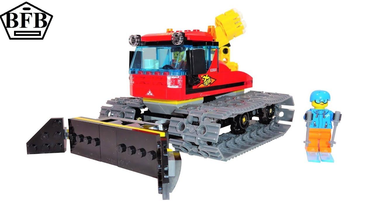 LEGO 60222 Pistenraupe City Fahrzeuge
