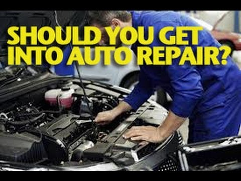 Should You Get Into Auto Repair? -ETCG1