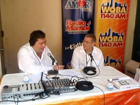 Entrevista de WQBA a Abilio Estévez en Miami