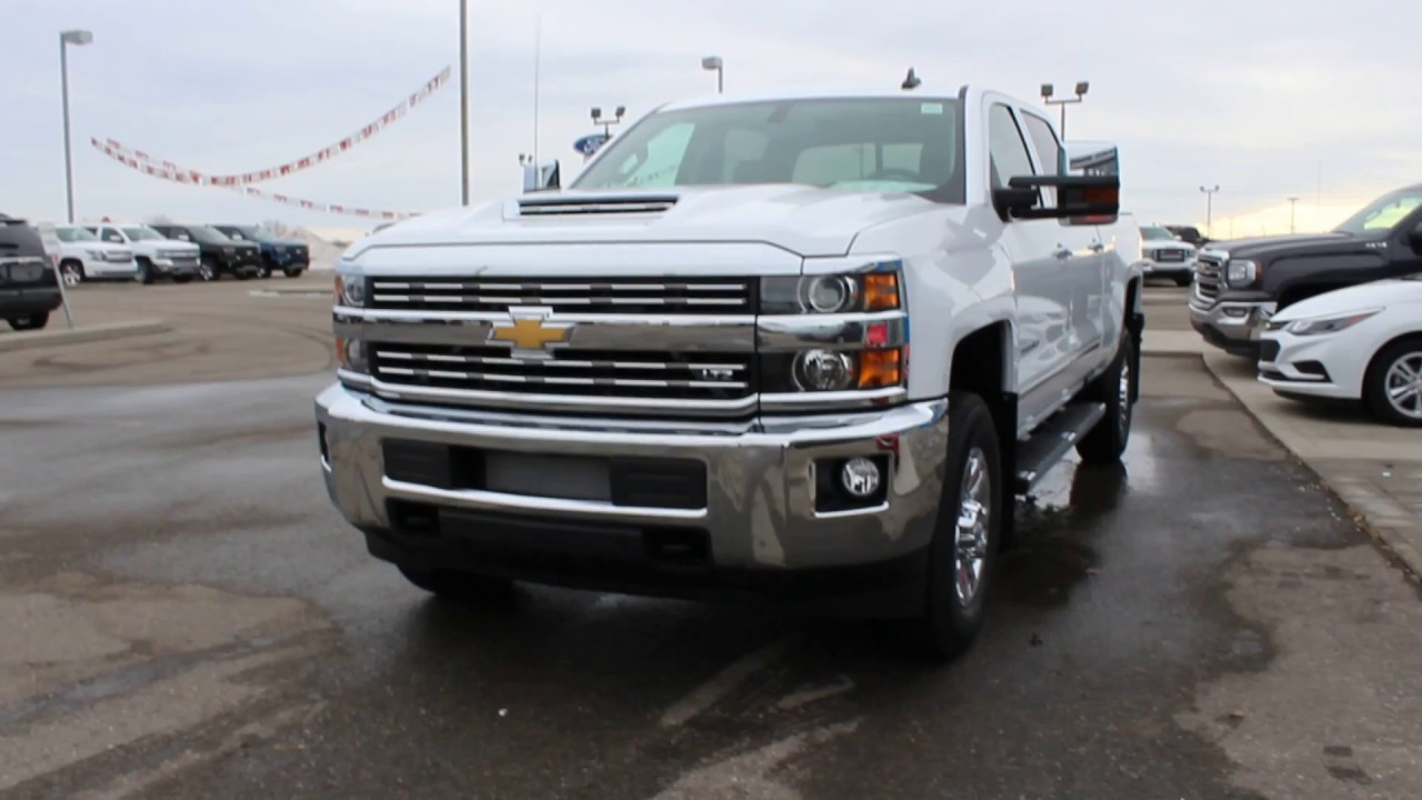 new 2017 chevy silverado 3500 ltz duramax calgary lethbridge youtube. Black Bedroom Furniture Sets. Home Design Ideas
