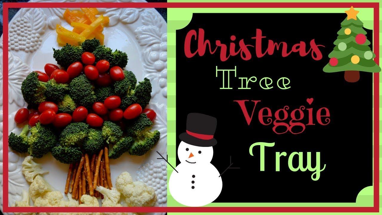 Christmas Tree Veggie Tray.Christmas Tree Veggie Tray I How To Make A Holiday Vegetable Tray