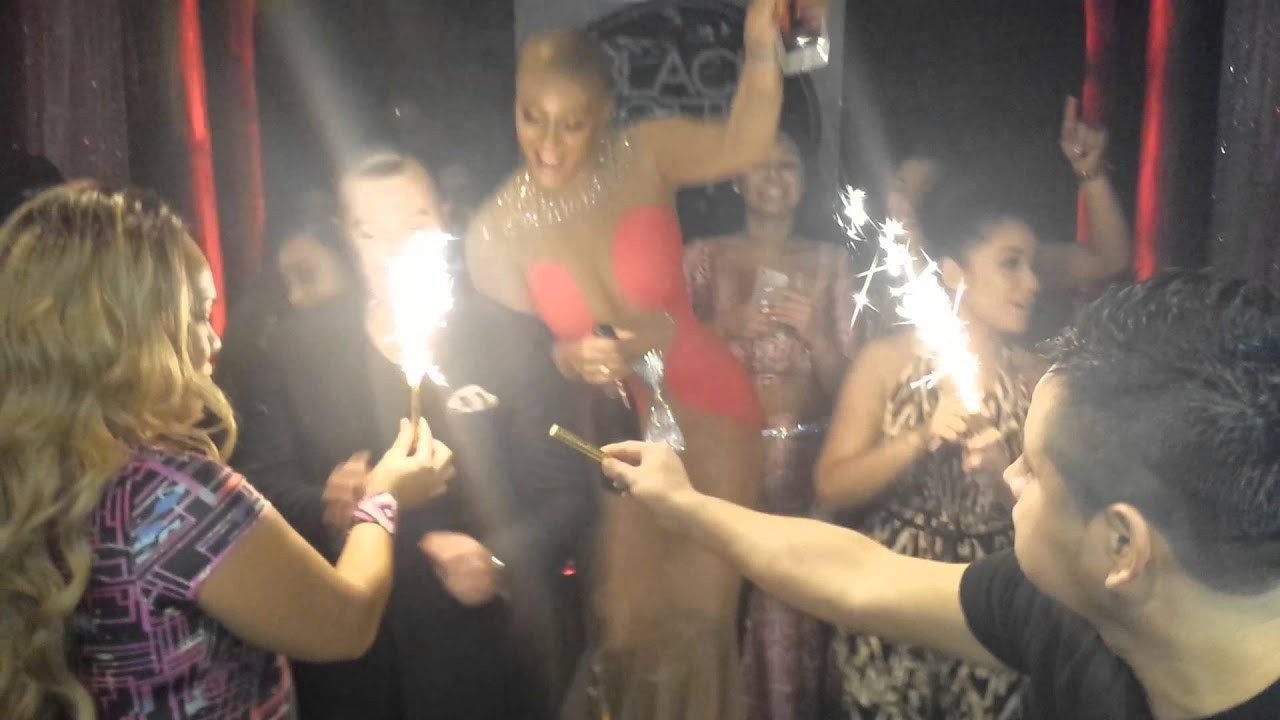 Nya Lee Private Birthday Dinner Party - YouTube