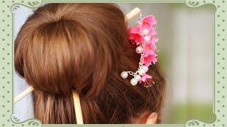 Как носить японские палочки