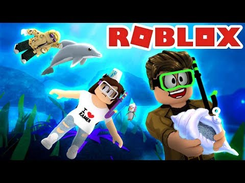 EXTREME SCUBA DIVING IN ROBLOX! Exploring Quill Lake