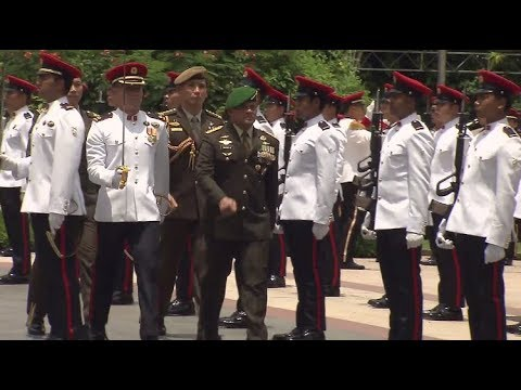 DSO(M) Investiture for former Commander-in-Chief of the TNI, GEN Gatot Nurmantyo