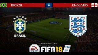 GANHAMOS DA INGLATERRA ??! FIFA 18 World Cup Rússia #05