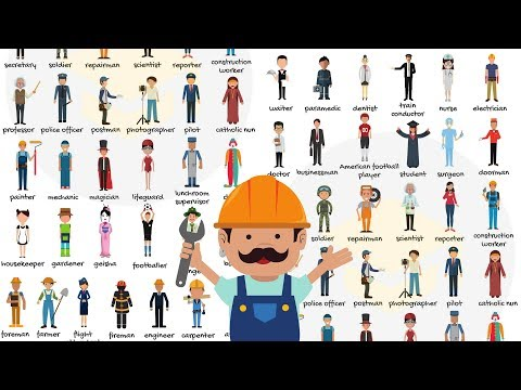 List of Jobs and Occupations: Learn Different Types of Jobs with Pictures