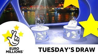 The National Lottery Tuesday EuroMillions draw results from 25th July 2017