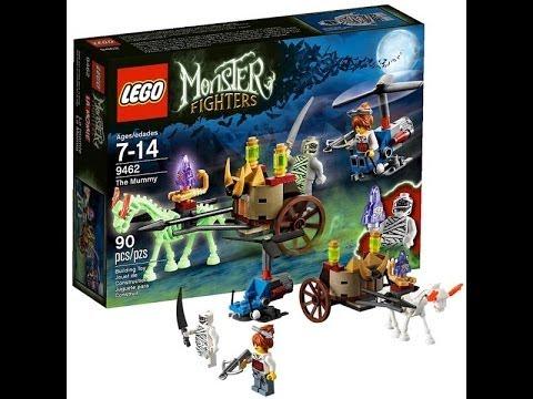 Лего охотники на монстров Мумия 9463