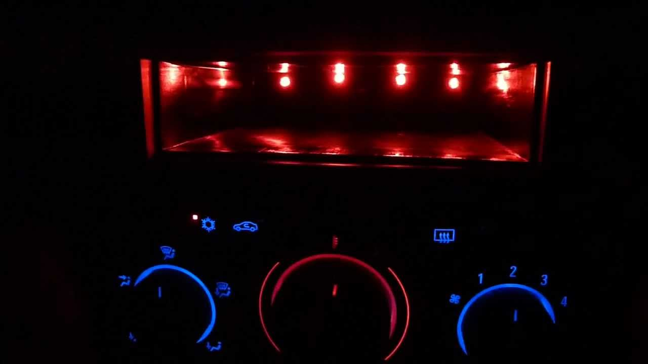 Jeep Hard Top Wiring Diagram Astra H Blue Led Dash Mod Youtube