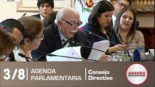Sesión de Consejo Directivo 3/8 (21/12/18)