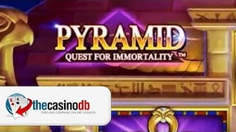 Pyramid Slot: Quest for Immortality - New NetEnt Slot Game