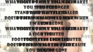 Kelly Clarkson - Stronger (What Doesn't Kill You)(Audio + Lyrics + Download)