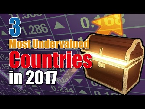 3 most UNDERVALUED countries in 2017!