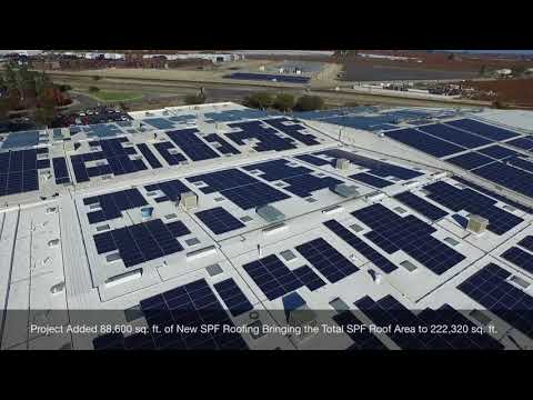 Foam Roofing & Solar Project – Fresno, CA
